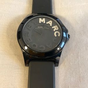 Marc by Marc Jacobs silicone strap watch